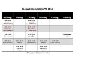 Schema VT 2018